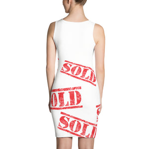 SOLD perfect for realtors Sublimation Cut & Sew Dress
