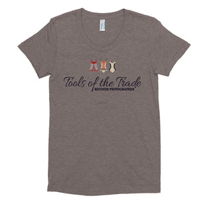 """Tools of the trade"" Boudoir Photographer Women's Crew Neck T-shirt"