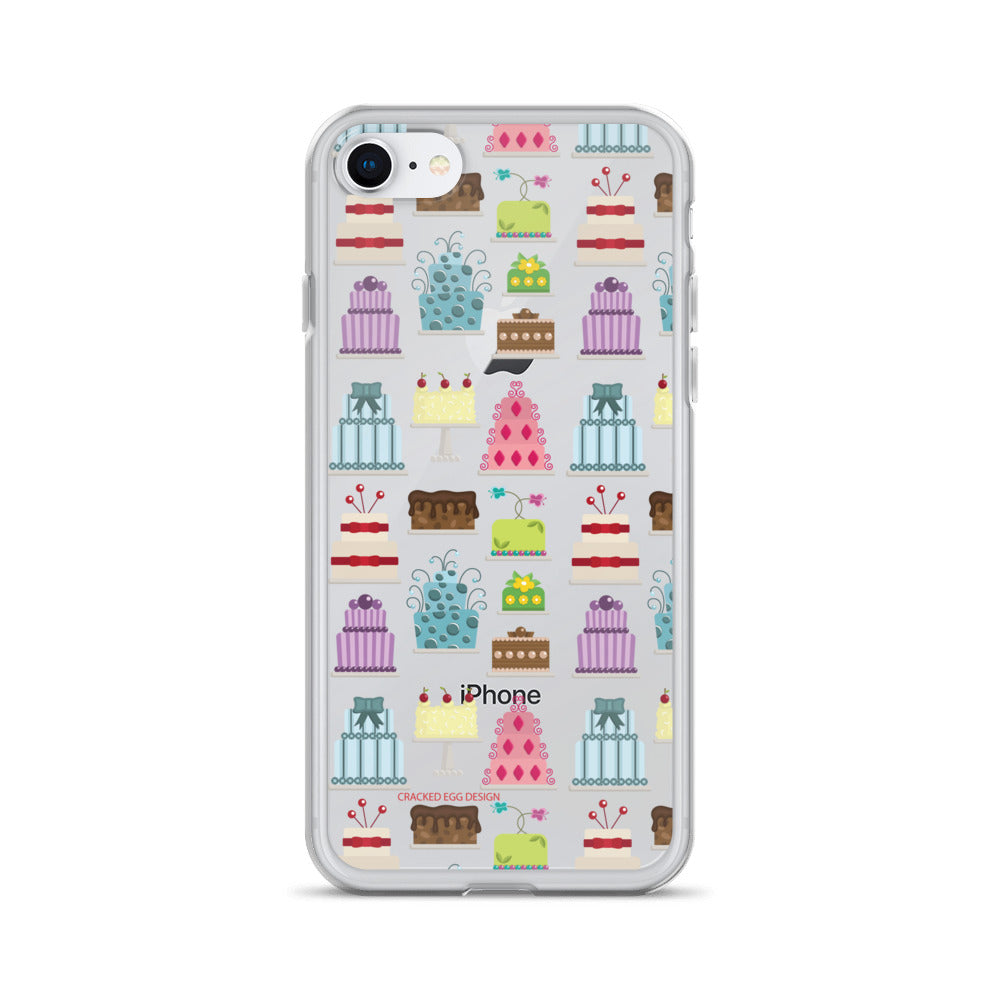 All about that cake (foodie, wedding cake artist, baker) iPhone Case