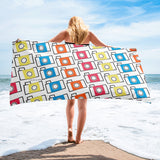 Colorful Camera Pattern (photographer) Towel