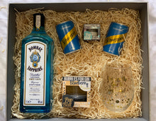 Load image into Gallery viewer, 1L Bombay Sapphire popaballs gift set