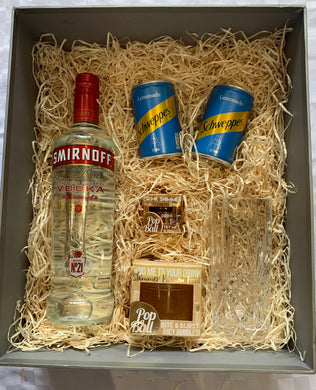 Smifnoff vodka popaballs gift set 1