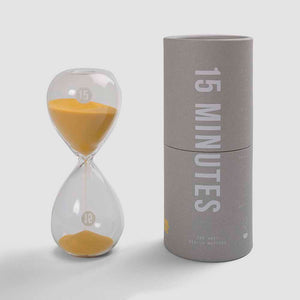The School of Life 15 Minutes Hourglass