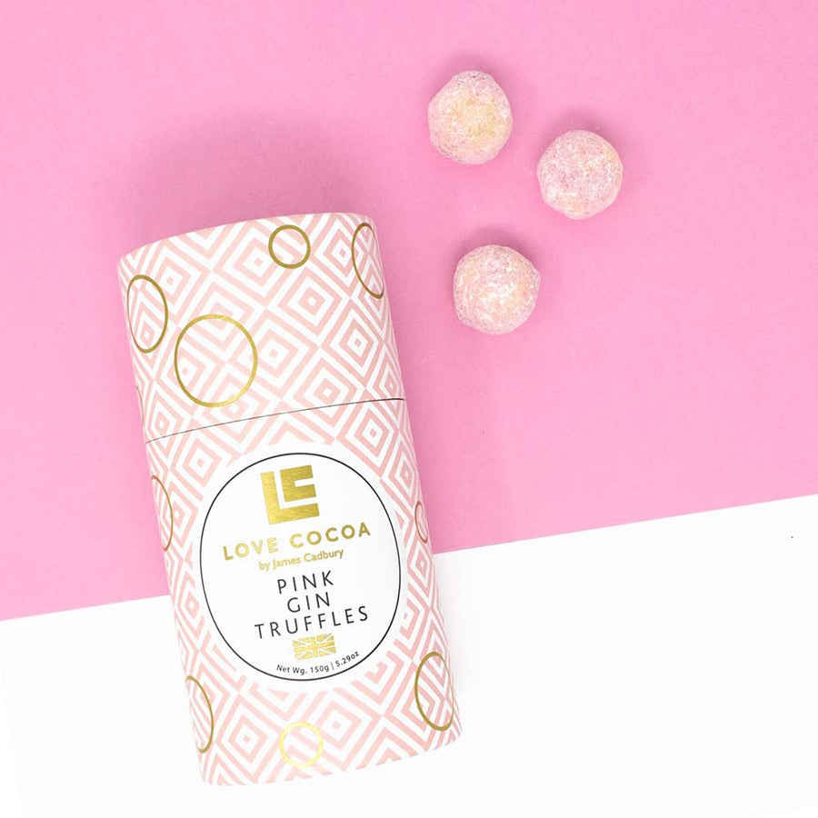 Love Cocoa - Pink Gin Truffles