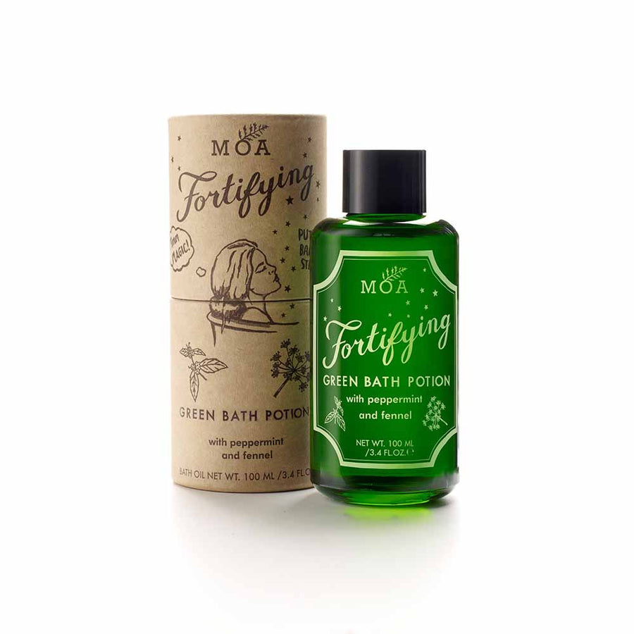 Magic Organic Apothecary - Fortifying Green Bath Potion - 100ml