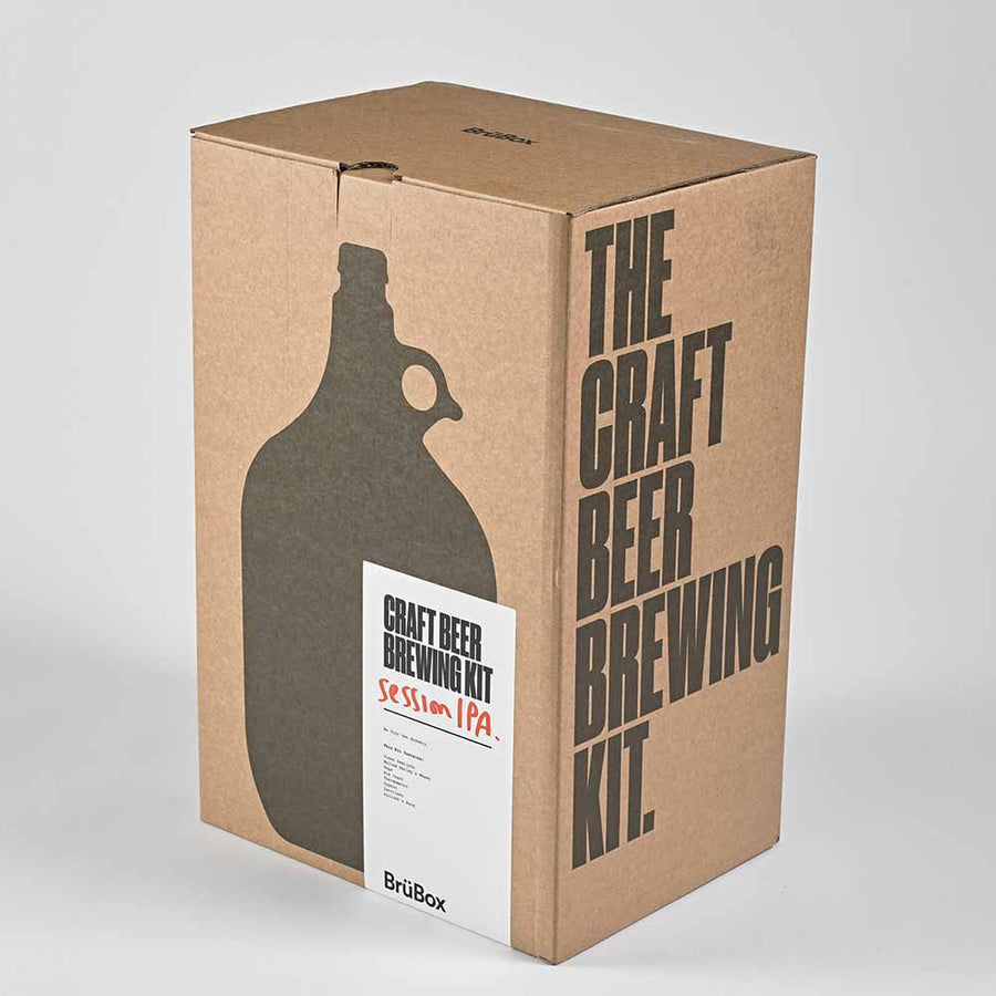 BrüBox Session IPA Home Brewing Kit