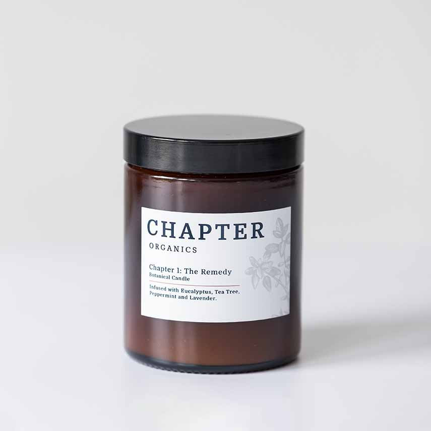 Chapter Organics The Remedy Candle