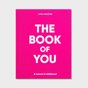 Colour Chronicles The Book of You Book in Pink