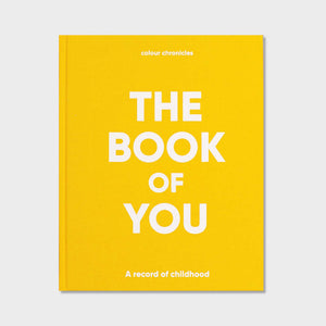 Colour Chronicles The Book of You Book in Yellow