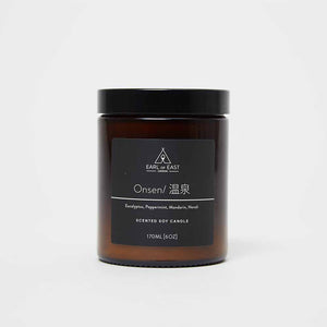 Earl of East London Onsen Candle