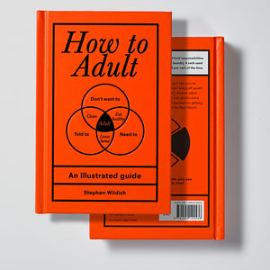 Ebury Press How to Adult front and back cover