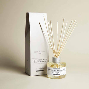 Plum & Ashby - Vetiver and Lavender Reed Diffuser - 120ml