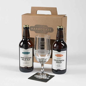 Harrogate Brewing Company Beer and Glass Gift Pack