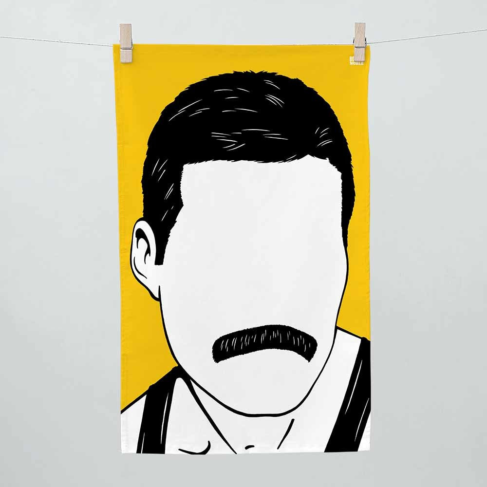 Bold & Noble - Freddie Mercury Tea Towel