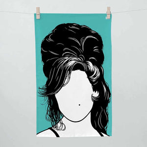 Bold & Noble - Amy Winehouse Tea Towel