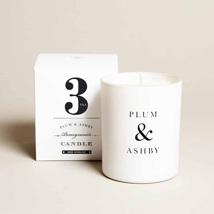 Plum & Ashby - Pomegranate Scented Candle - 210g
