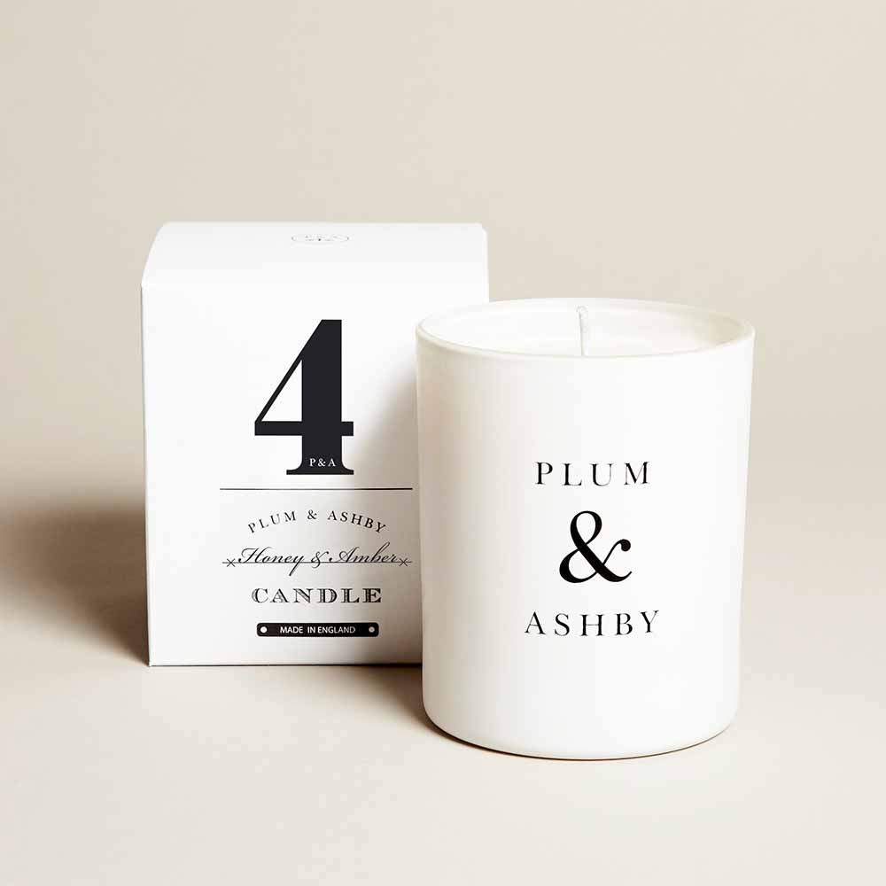 Plum & Ashby - Honey and Amber Candle - 210g