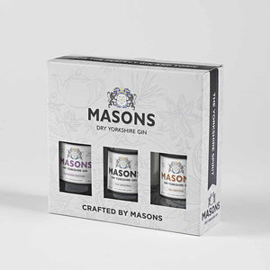 Masons Dry Yorkshire Gin Boxed Gift Set packaged