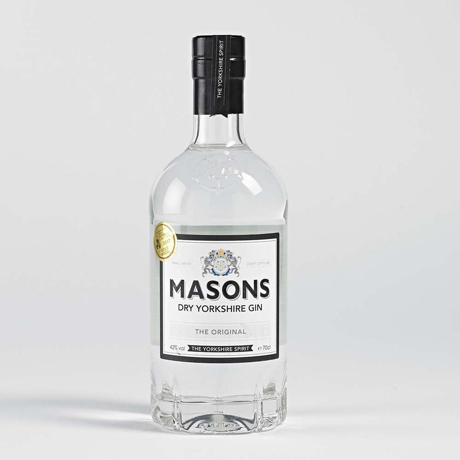 Masons Dry Yorkshire Gin - The Original 70cl