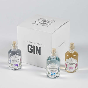 The Old Curiosity Distillery Miniature Gin Gift Set