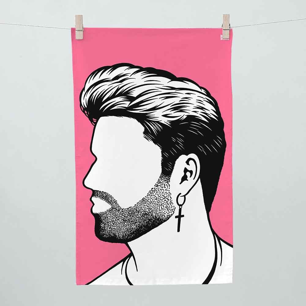 Bold & Noble - George Micheal Tea Towel