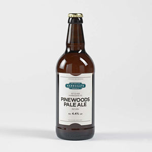 Bottle of Pinewoods Pale Ale