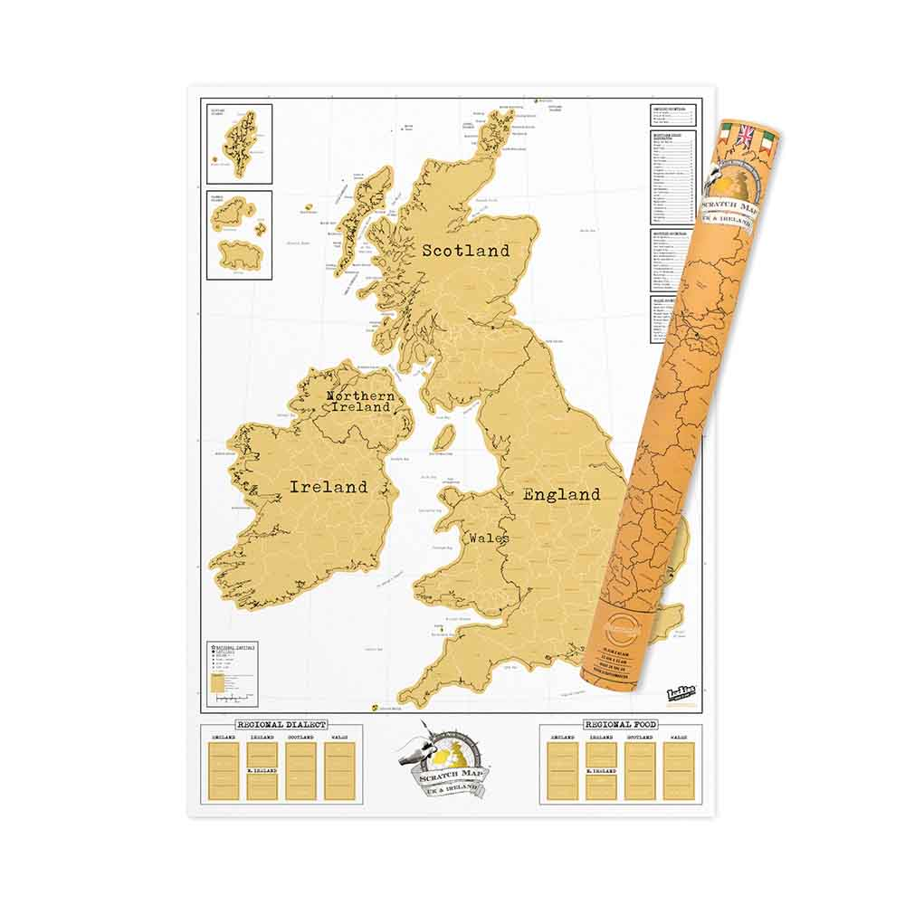 UK Scratch Map