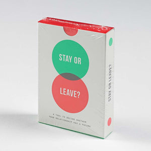 The School of Life Stay Or Leave