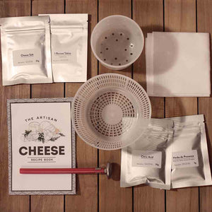 Inside the The Artisan Cheese Makers Kit