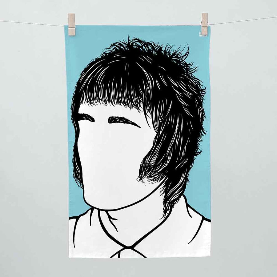 Bold & Noble  - Liam Gallagher Tea Towel