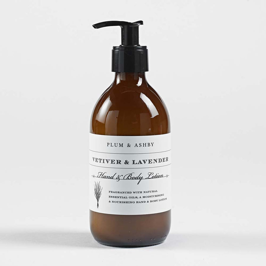 Vetiver & Lavender Hand and Body Lotion