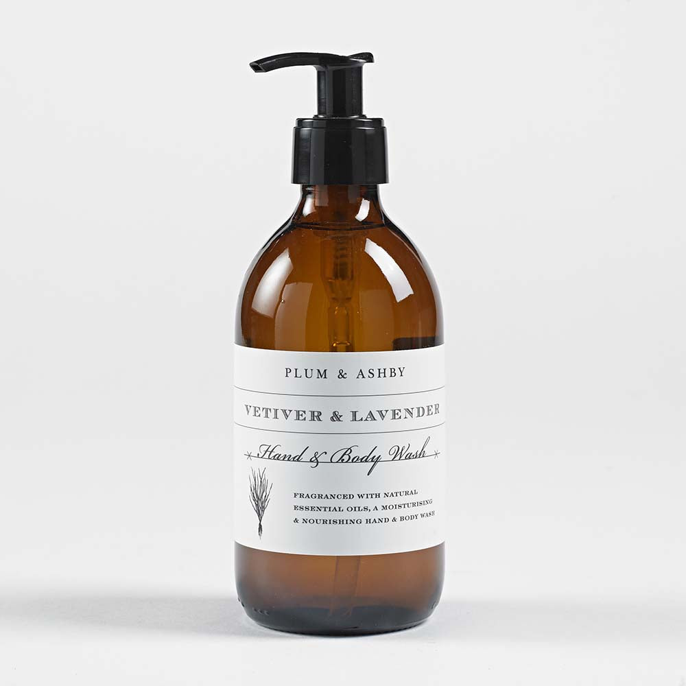 Vetiver And Lavender Hand Body Wash