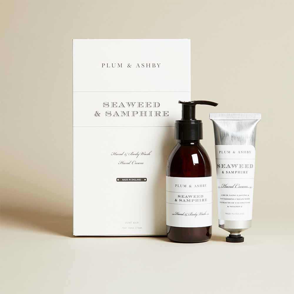Plum & Ashby - Seaweed and Samphire Hand and Body Wash Hand Cream