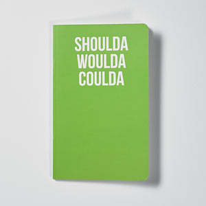 Notebook Shoulda Woulda Coulda Cover