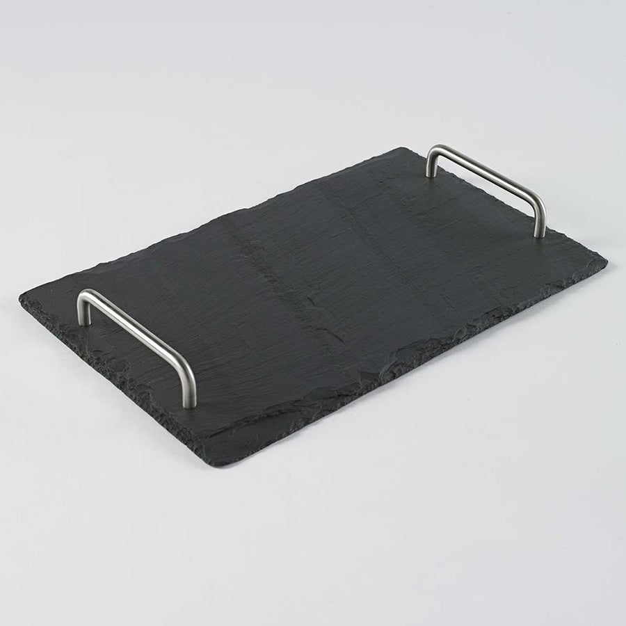 Welsh Slate Serving Platter on its packaging