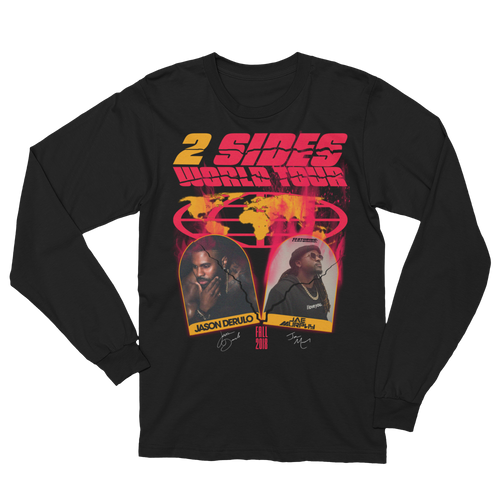 2 Sides World Tour Longsleeve T-shirt