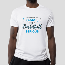 T-shirt Basketball is serious HOMME