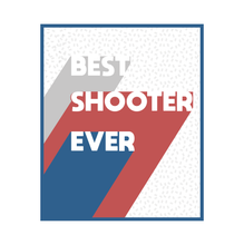 T-shirt Best Shooter Ever FEMME