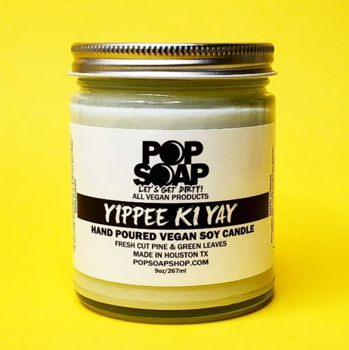 YIPPEE KI YAY 9oz CANDLE