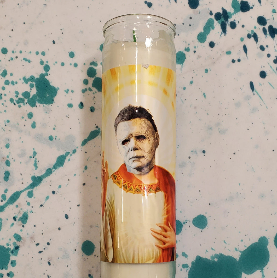 MICHAEL MYERS CELEBRITY CANDLE