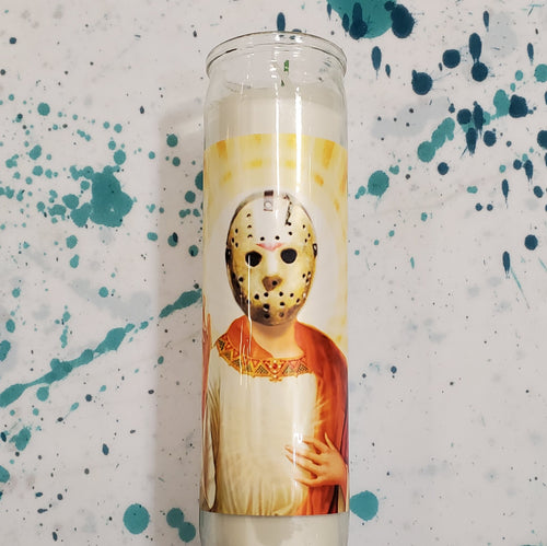 JASON VOORHEES CELEBRITY CANDLE