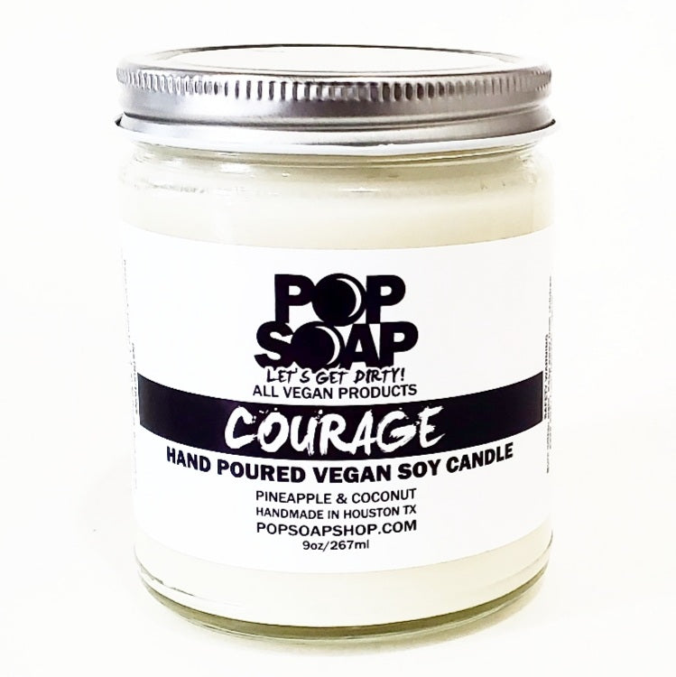 COURAGE 9 OZ CANDLE