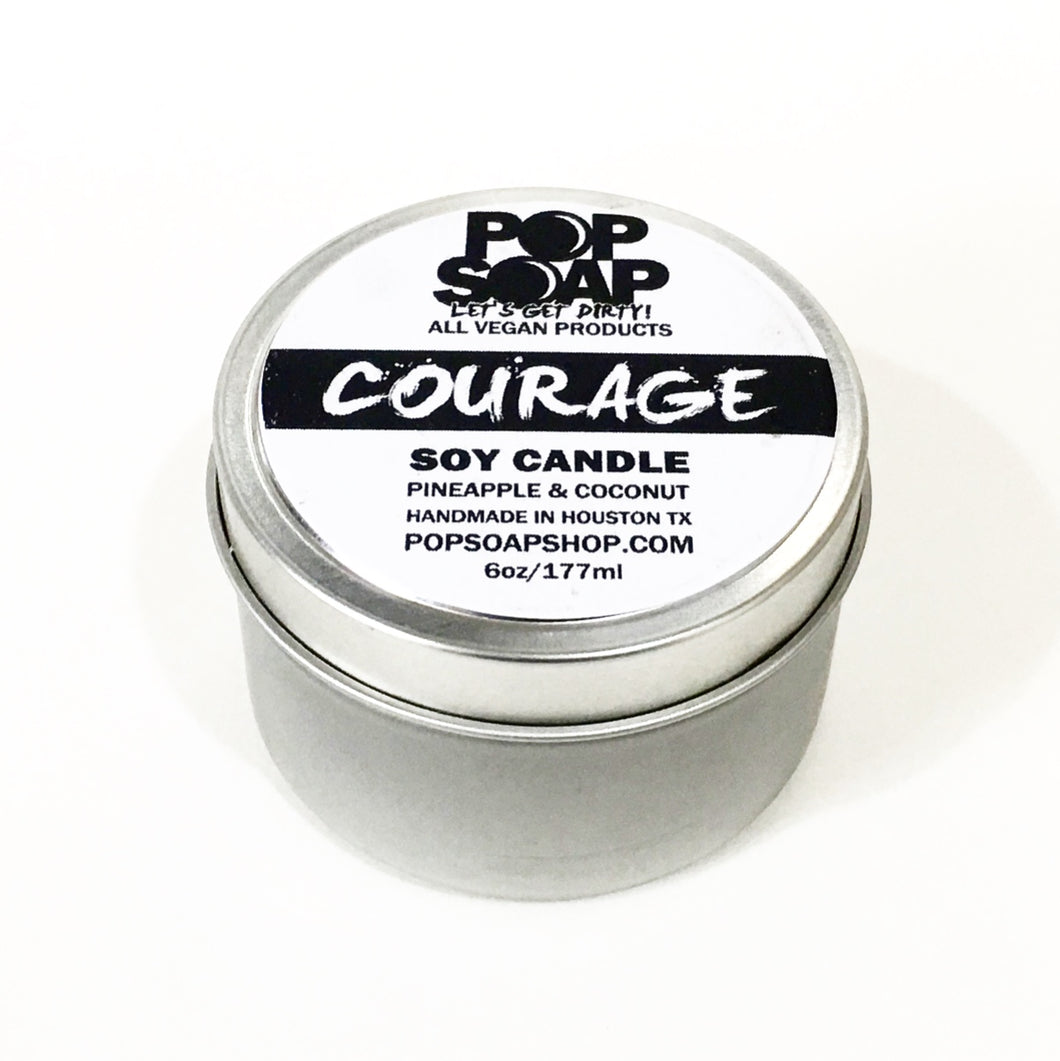 COURAGE 4 OZ CANDLE