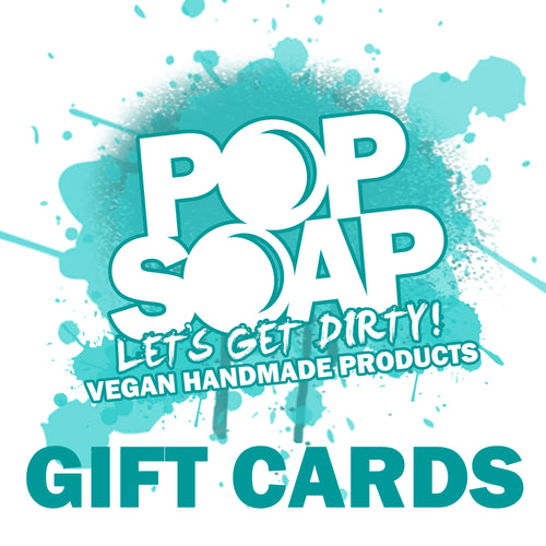 POP SOAP GIFT CARD