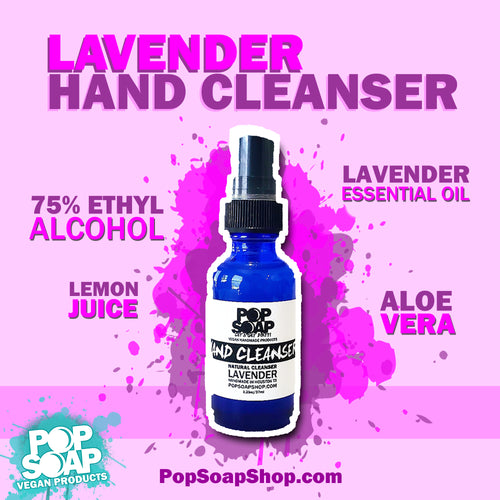 HAND CLEANSER LAVENDER