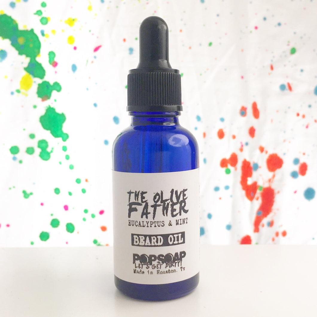 THE OLIVE FATHER BEARD OIL