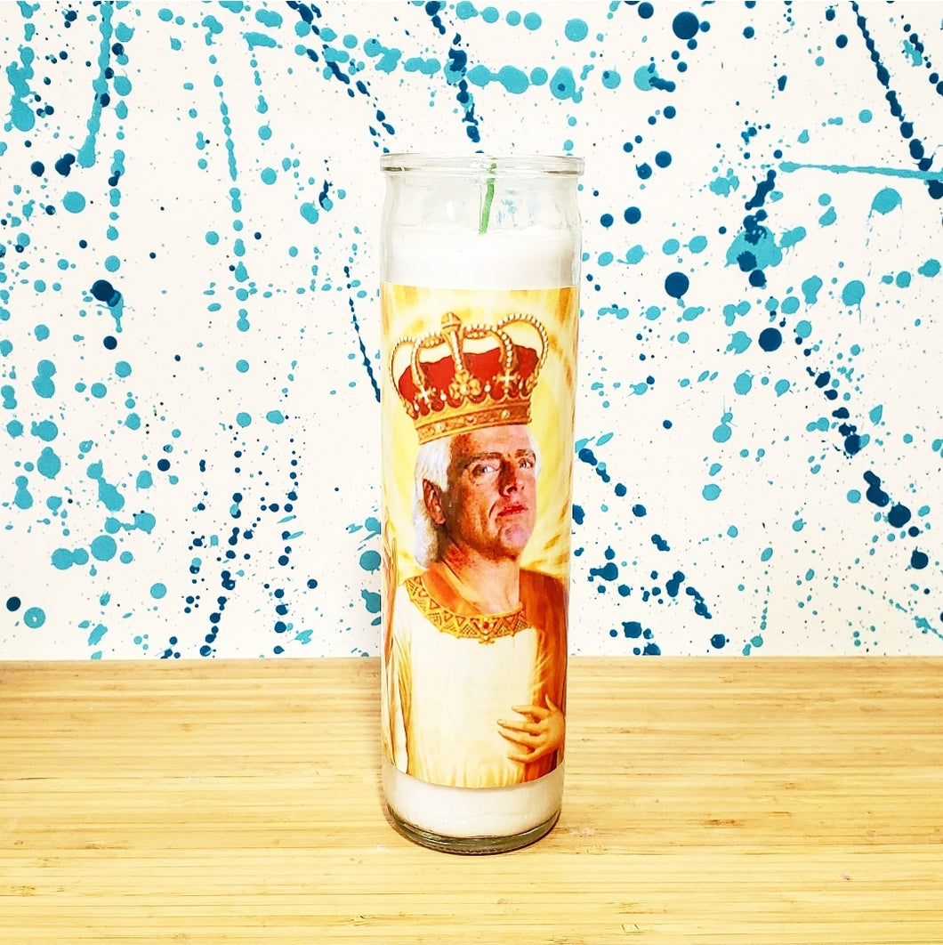 RIC FLAIR CELEBRITY CANDLE