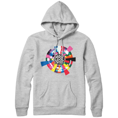 Wheel of Fortune Geometric Wedge Hoodie