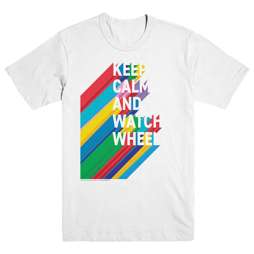 Wheel of Fortune Keep Calm and Watch Wheel Unisex Tee