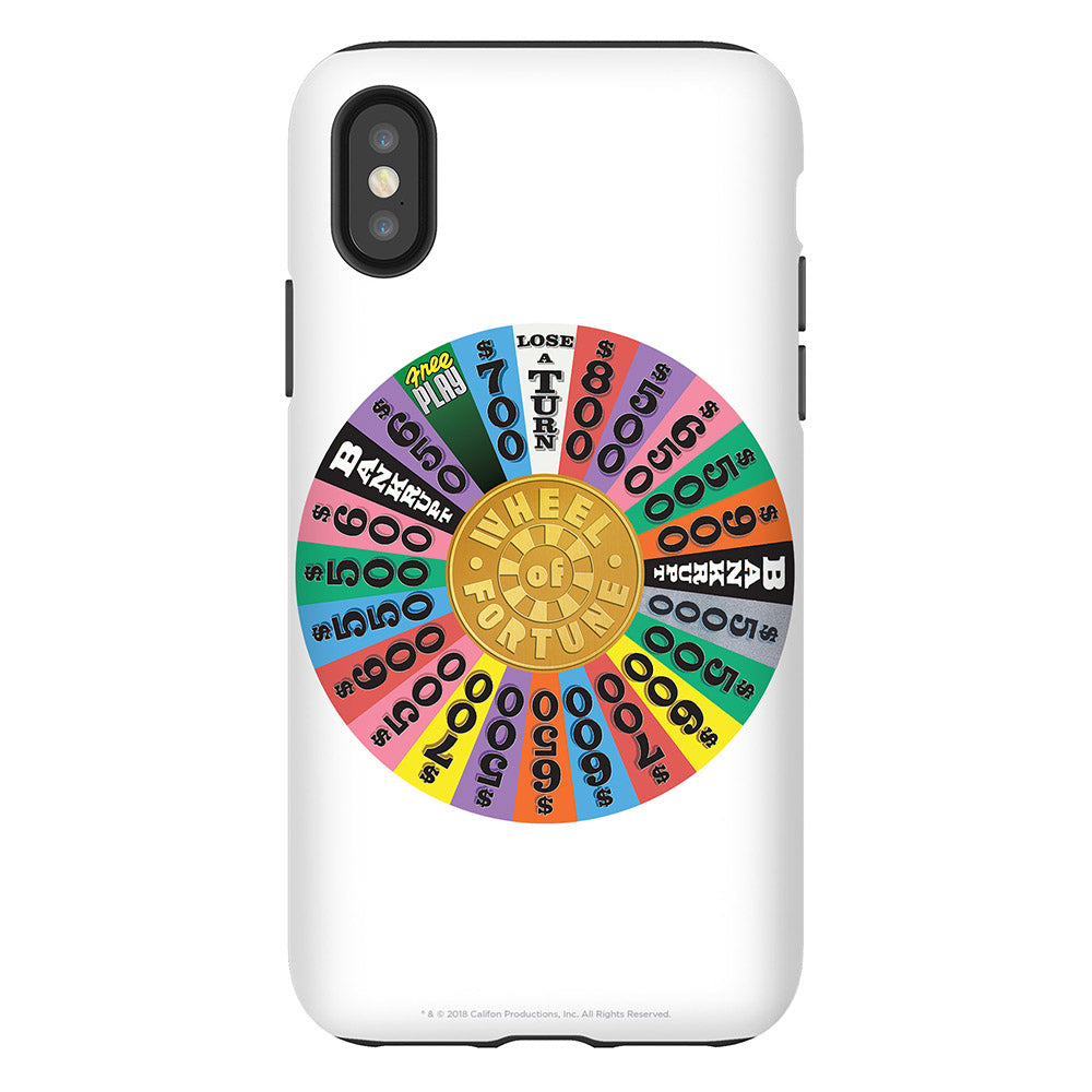 Wheel of Fortune Full Wheel Phone Case